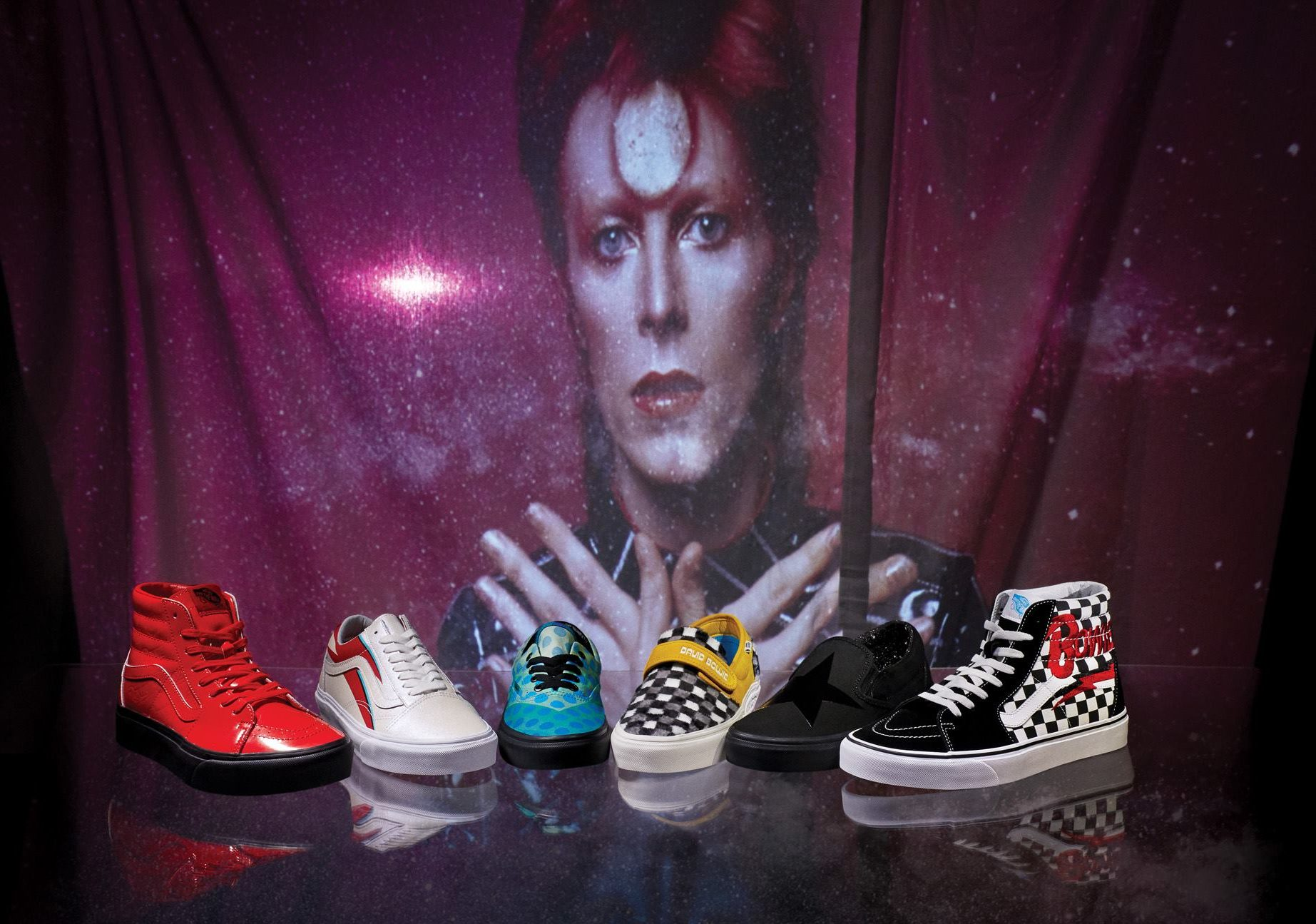 e8f38f5176 Vans x David Bowie Collection  Where to Buy Online – Rolling Stone
