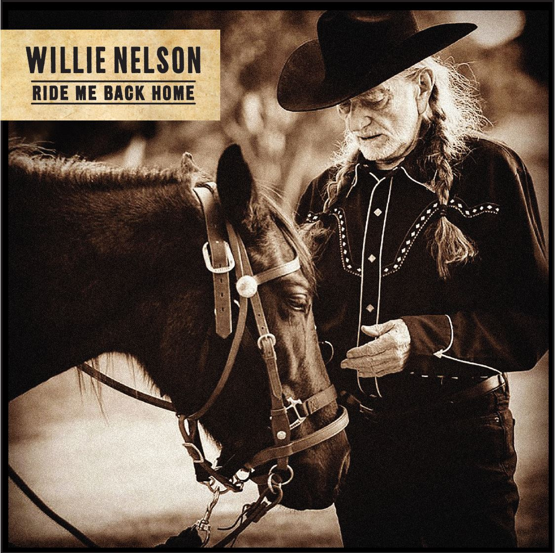Willie Nelson's New Album 'Ride Me Back Home': See Details