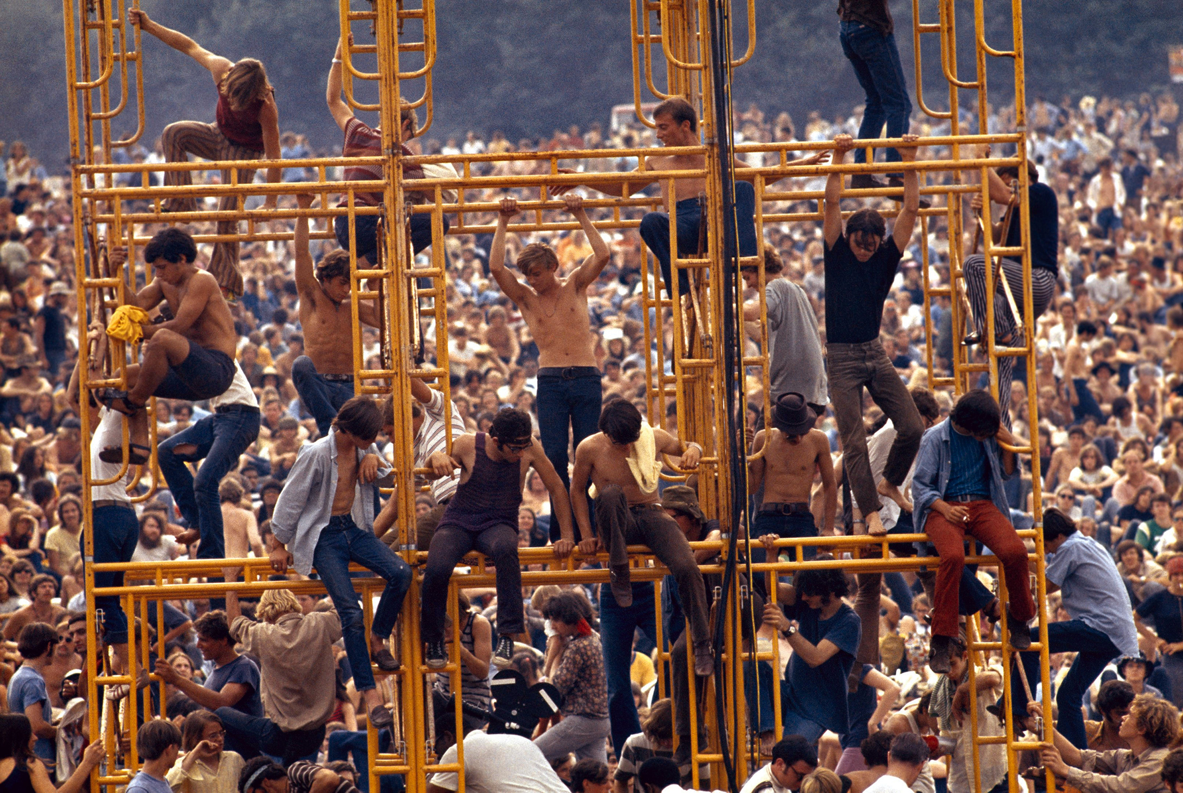 Watch Woodstock Transform Into Countercultural Paradise in New Doc Trailer