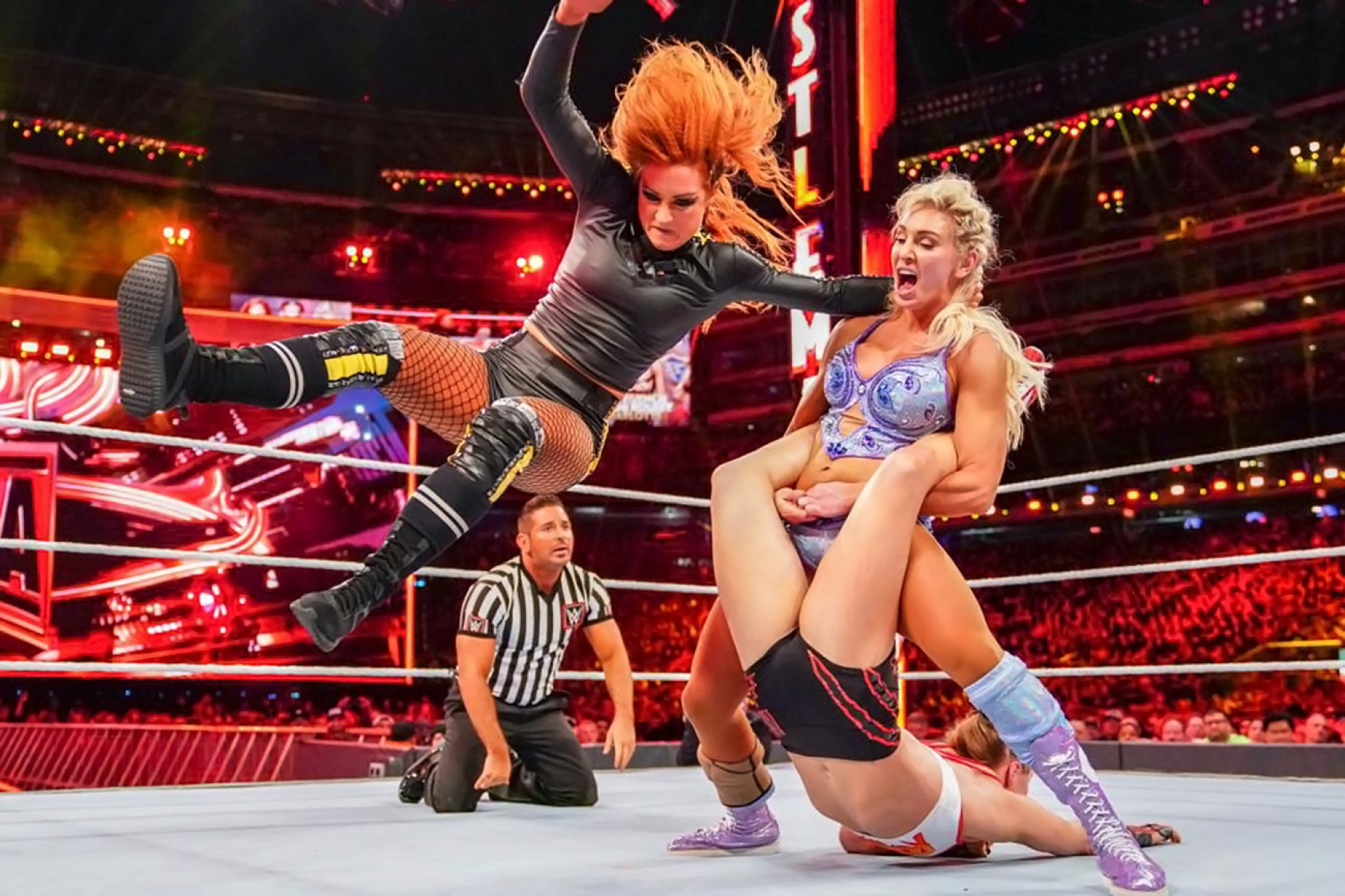 Wrestlemania 35: Ronda Rousey, Becky Lynch, Charlotte Flair - Rolling Stone