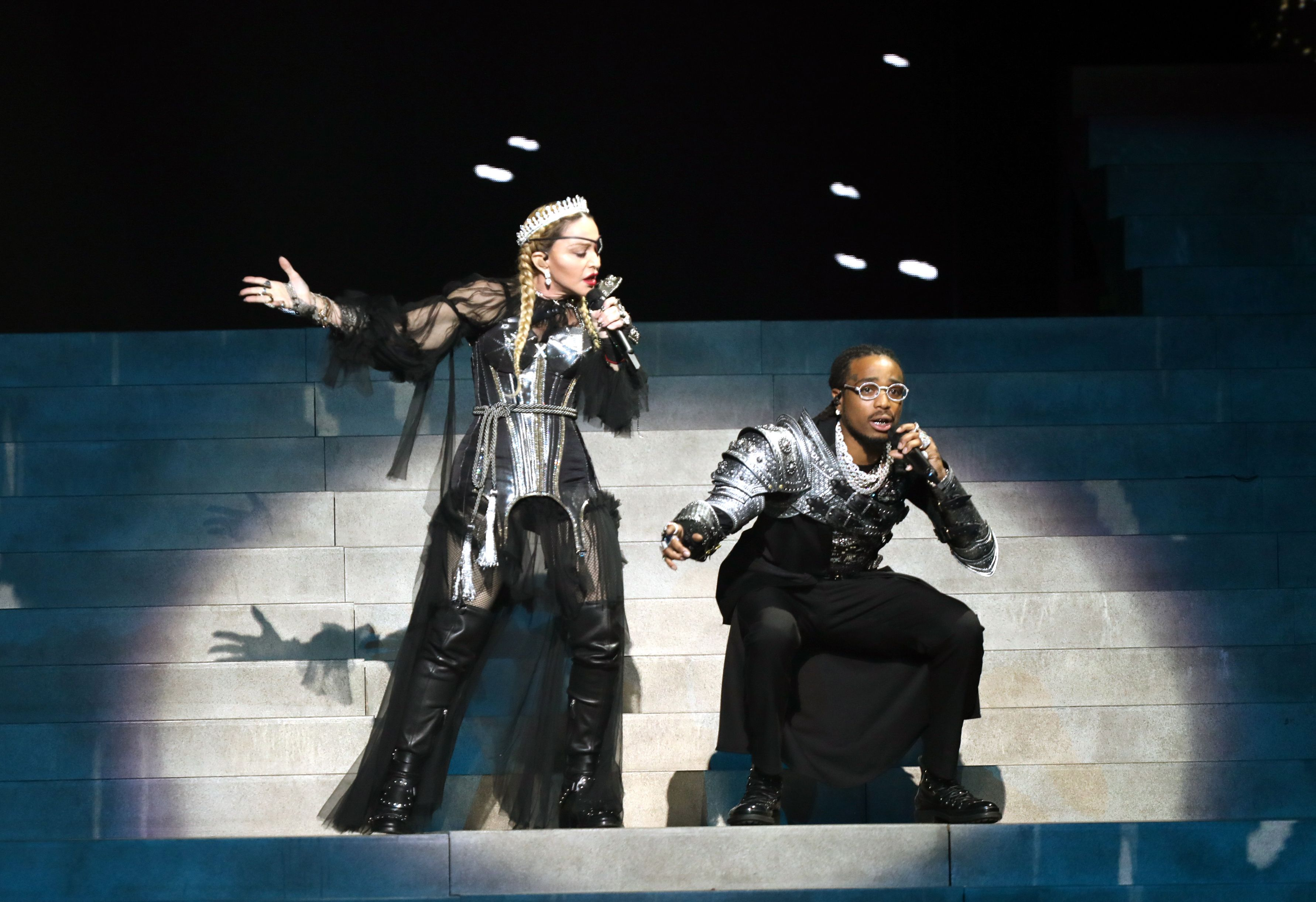 Watch Madonna and Quavo Perform 'Future' in Controversial Eurovision Set