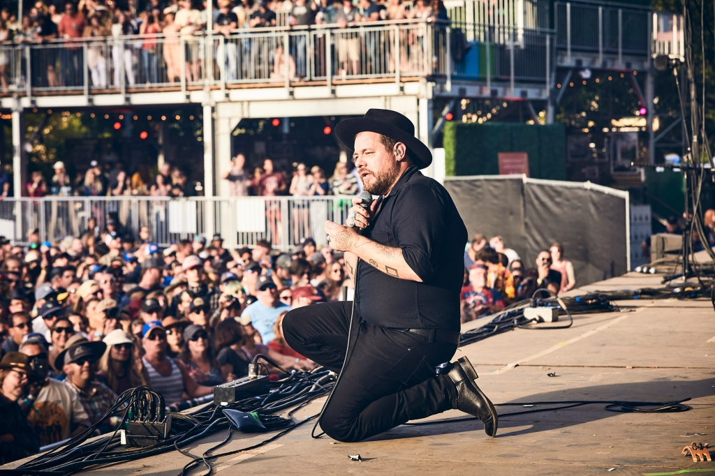 Nathaniel Rateliff performs at BottleRock in Napa Valley, CA on May 25th, 2019.
