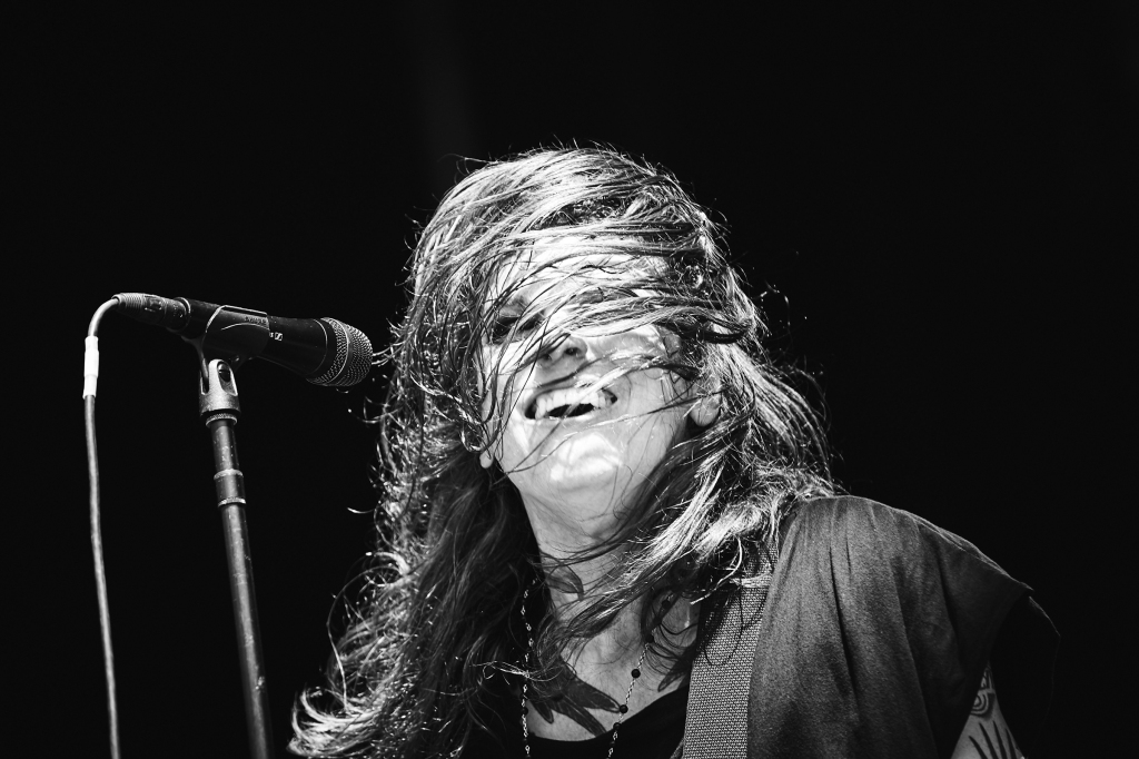 Laura Jane Grace of Against Me! performs at BottleRock in Napa Valley, CA on May 25th, 2019.