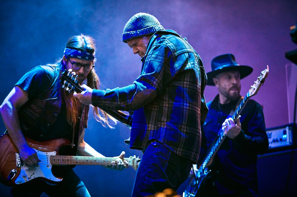 Neil Young and Promise of the Real perform at BottleRock in Napa Valley, CA on May 25th, 2019.