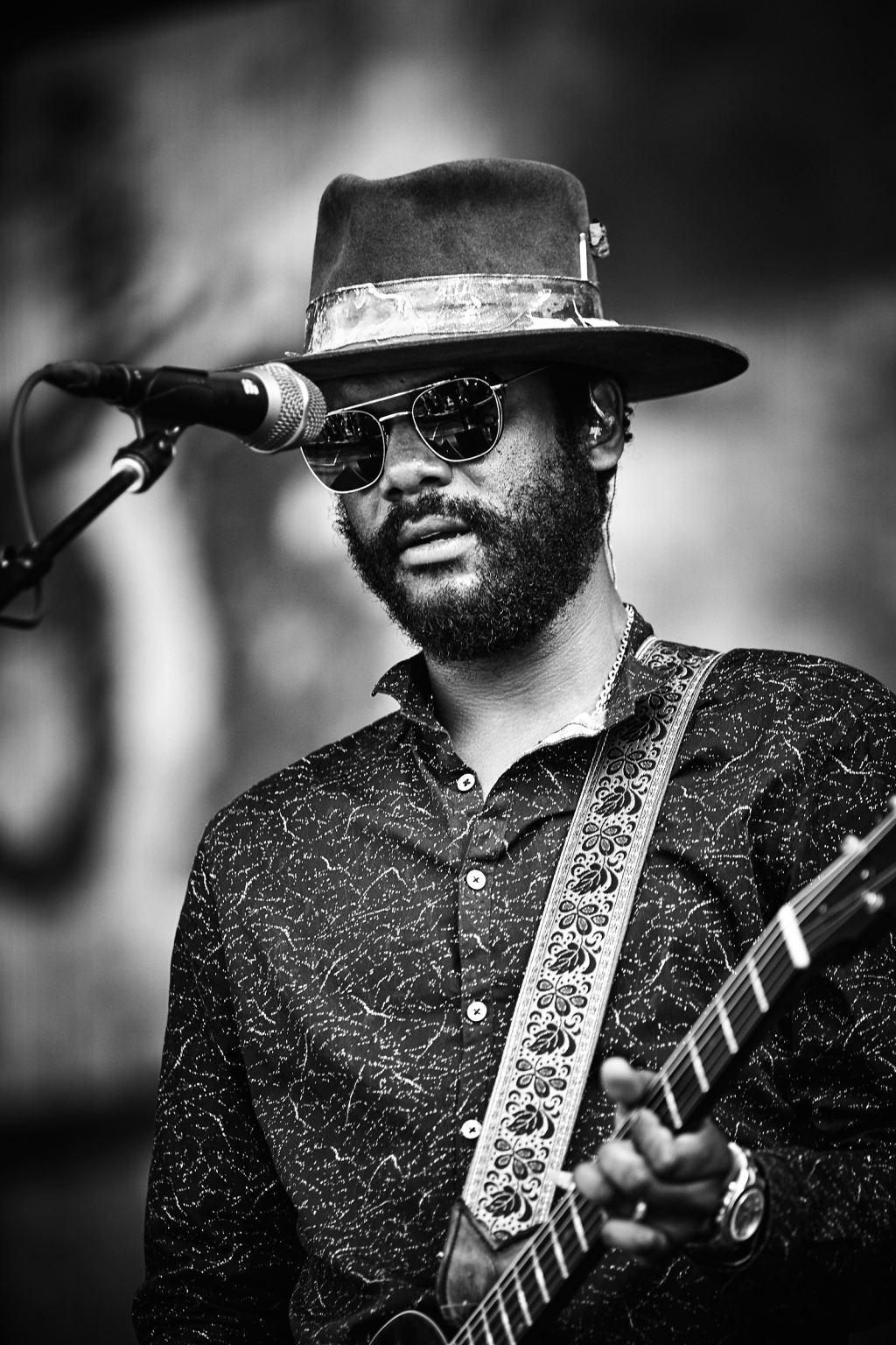 Gary Clark Jr. performs at BottleRock in Napa Valley, CA on May 25th, 2019.