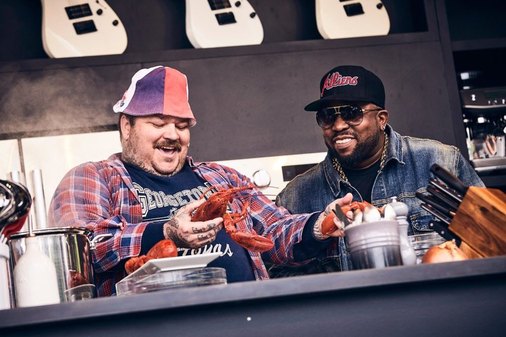 Chef Matty Matheson and Big Boi at BottleRock in Napa Valley, CA on May 26th, 2019.