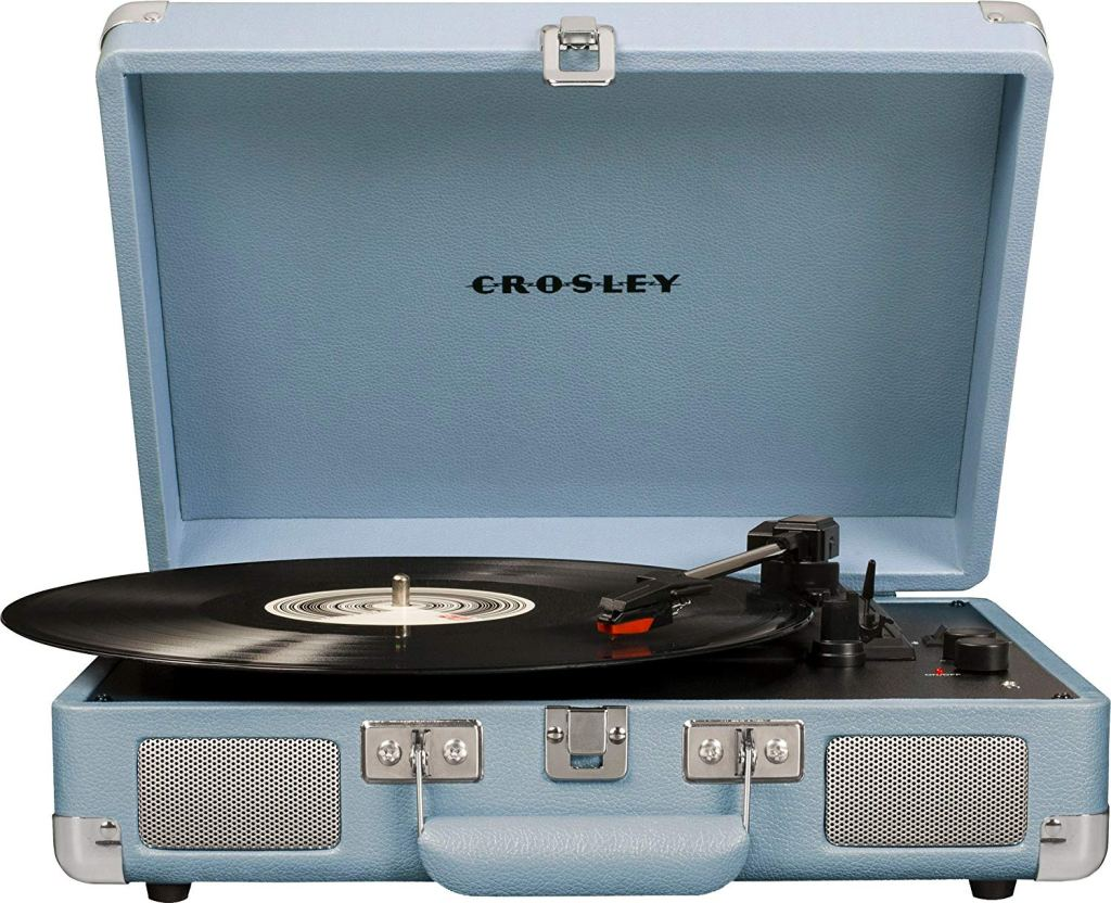 crosley cruiser speakers turntable record player