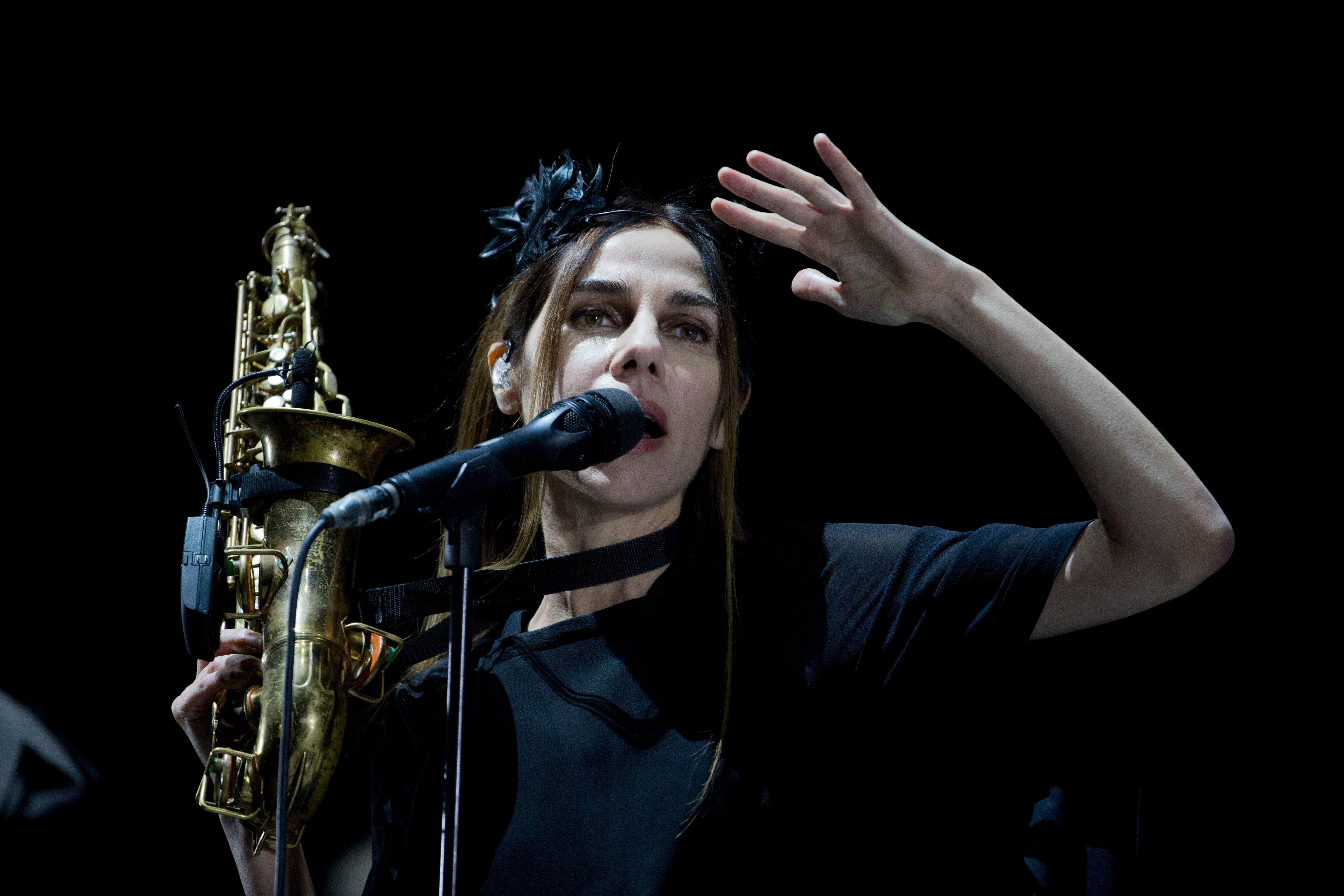 Hear PJ Harvey's Harrowing New Song 'The Crowded Cell'
