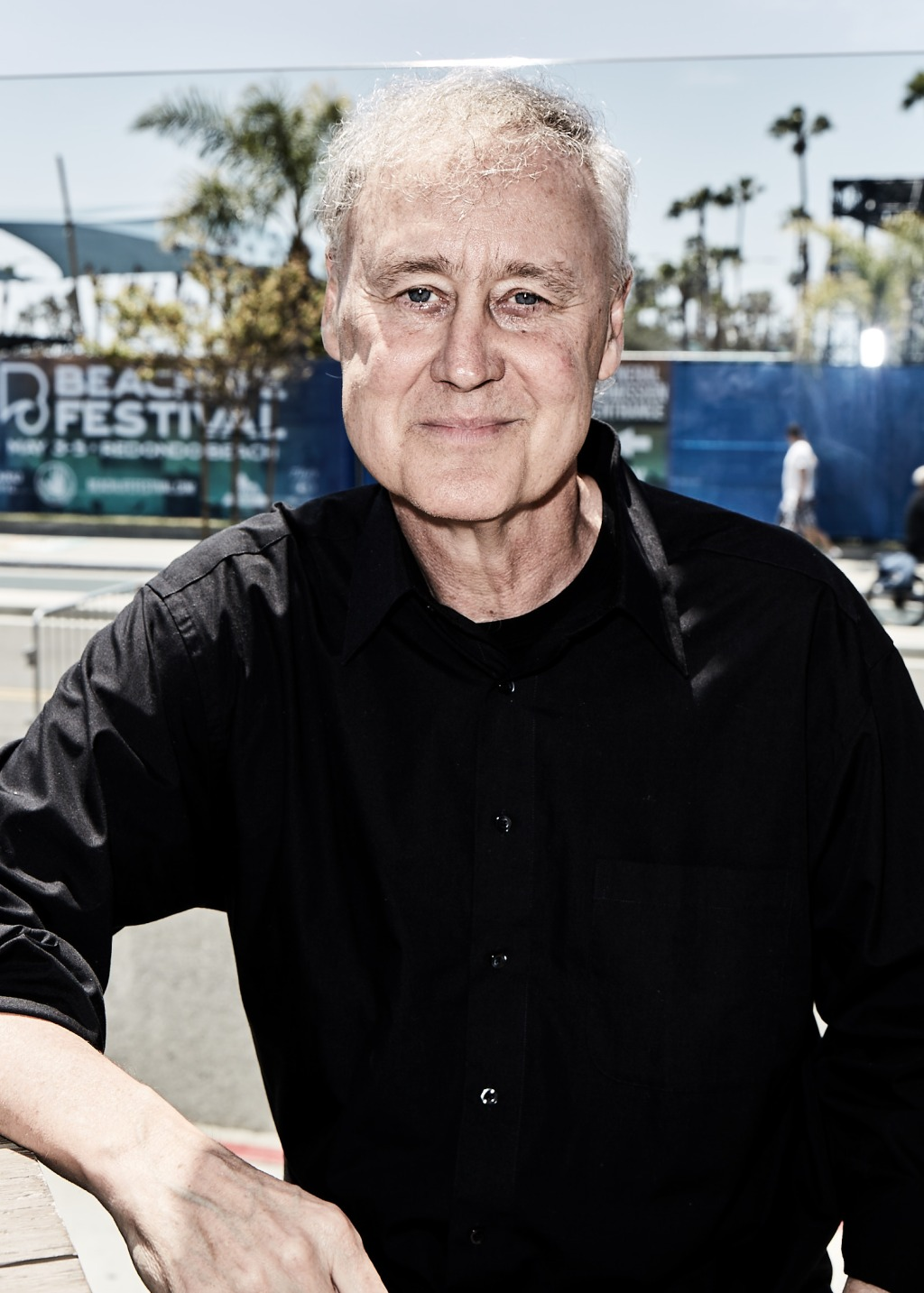 Bruce Hornsby backstage at BeachLife Music Festival in Redondo Beach, California on May 3-5th, 2019.