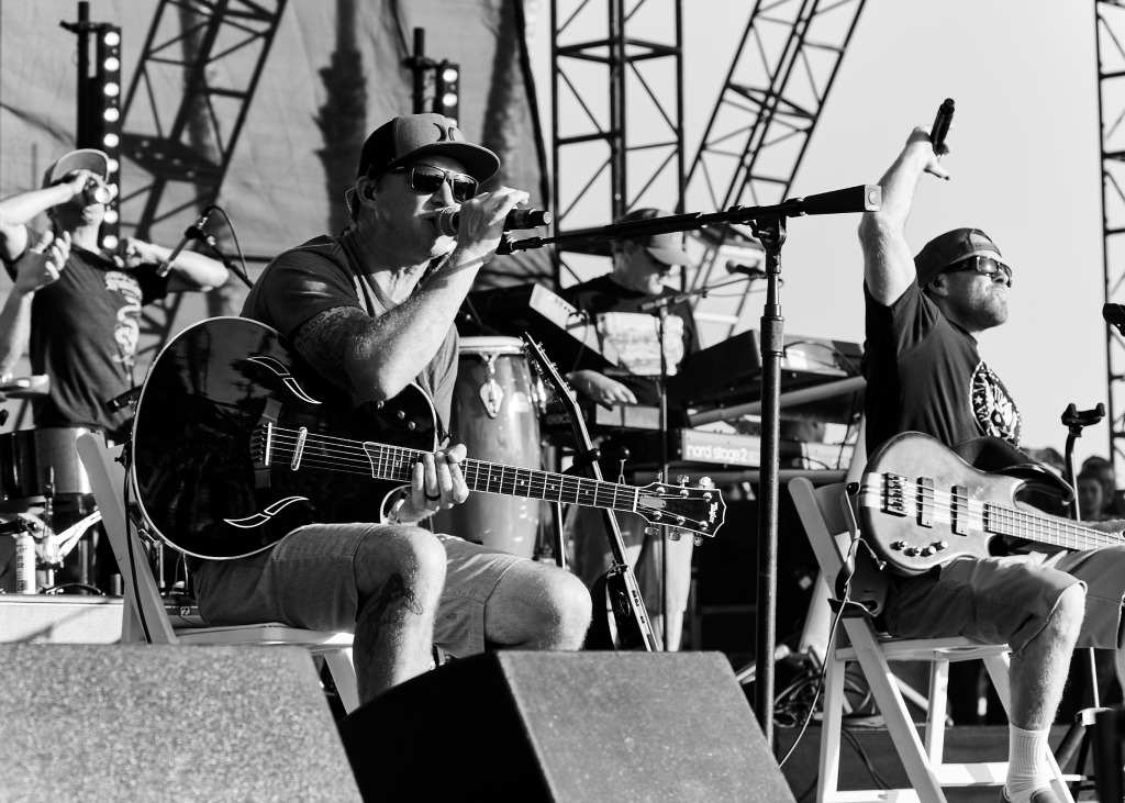 Slightly Stoopid performs at BeachLife Music Festival in Redondo Beach, California on May 3-5th, 2019.