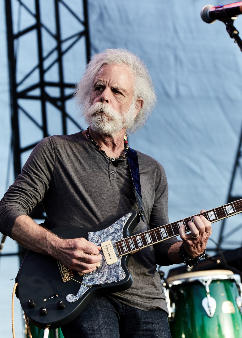 Bob Weir performs joins Slightly Stoopid on stage at BeachLife Music Festival in Redondo Beach, California on May 3-5th, 2019.