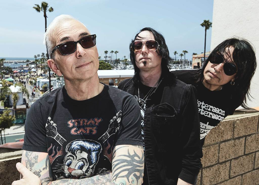 Everclear backstage at BeachLife Music Festival in Redondo Beach, California on May 3-5th, 2019.