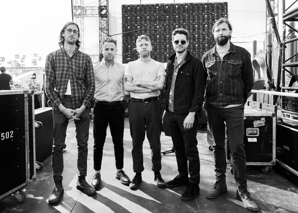 Dawes backstage at BeachLife Music Festival in Redondo Beach, California on May 3-5th, 2019.