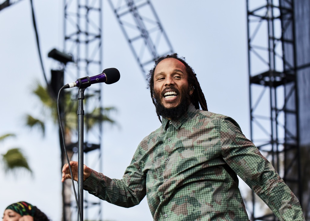 Ziggy Marley performs at BeachLife Music Festival in Redondo Beach, California on May 3-5th, 2019.