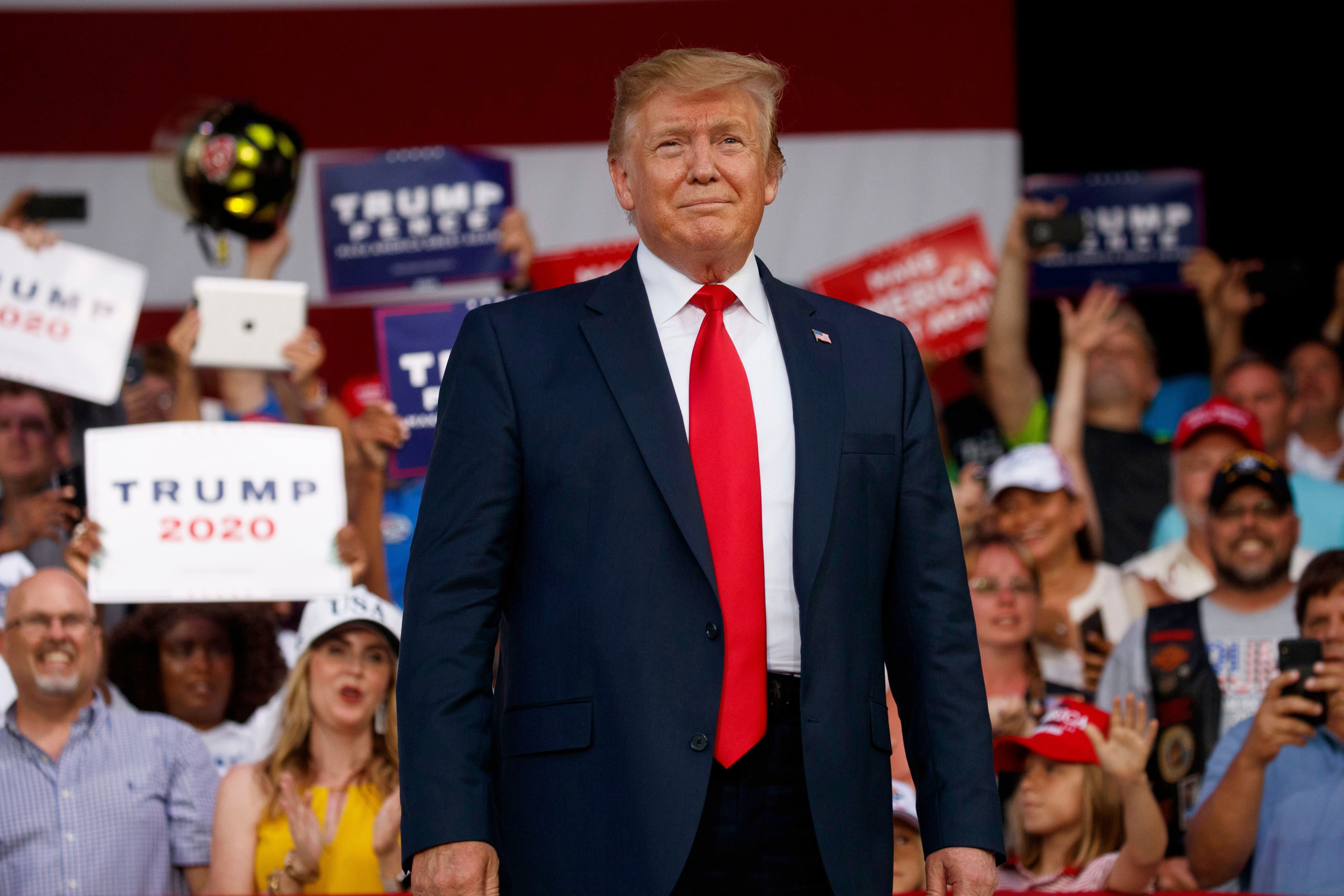 October 2020 Sharing Time Week For Ideas Trump Jokes About Shooting Migrants at the Border During Florida