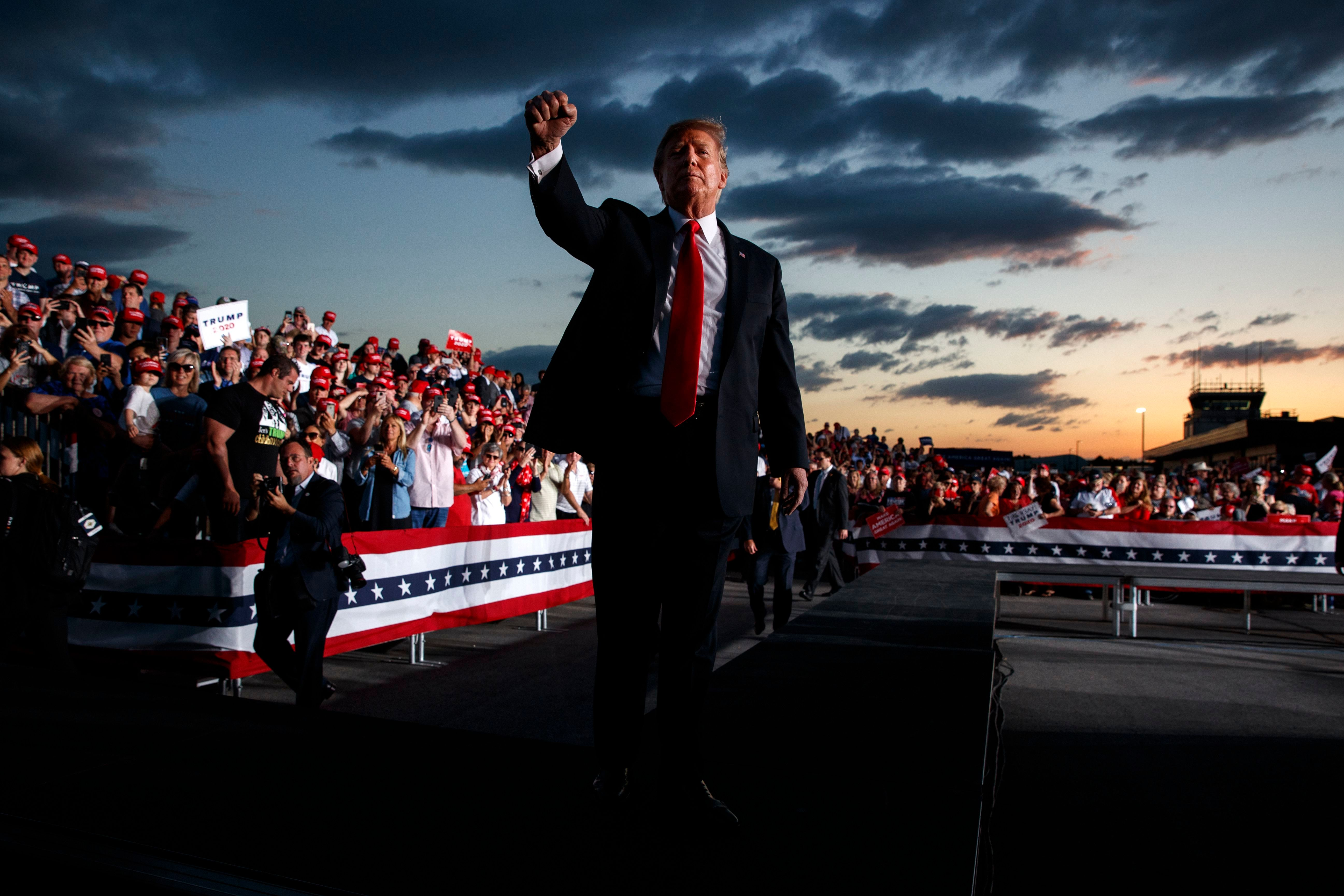 Trump Took Another Terrifying Step Toward Authoritarianism at His Rally in Pennsylvania