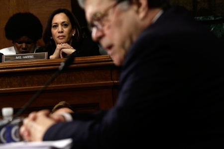 Kamala Harris Dunked On Attorney General William Barr So What Rolling Stone