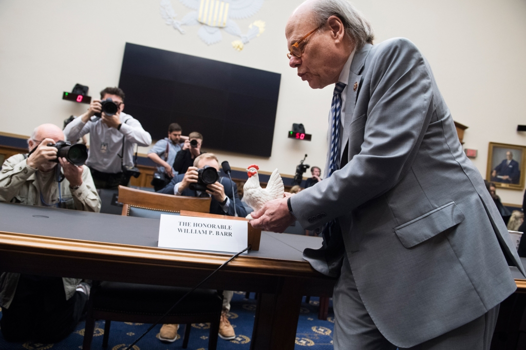 """Chicken Barr should have shown up today and answered questions,"" said Cohen."