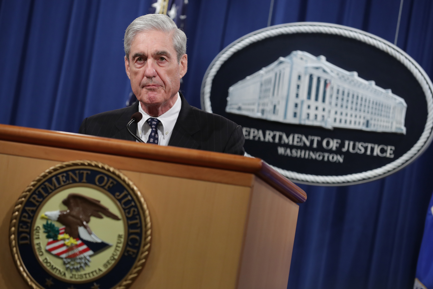 Mueller: 'If We Had Confidence That the President Did Not Commit a Crime, We Would Have Said So'