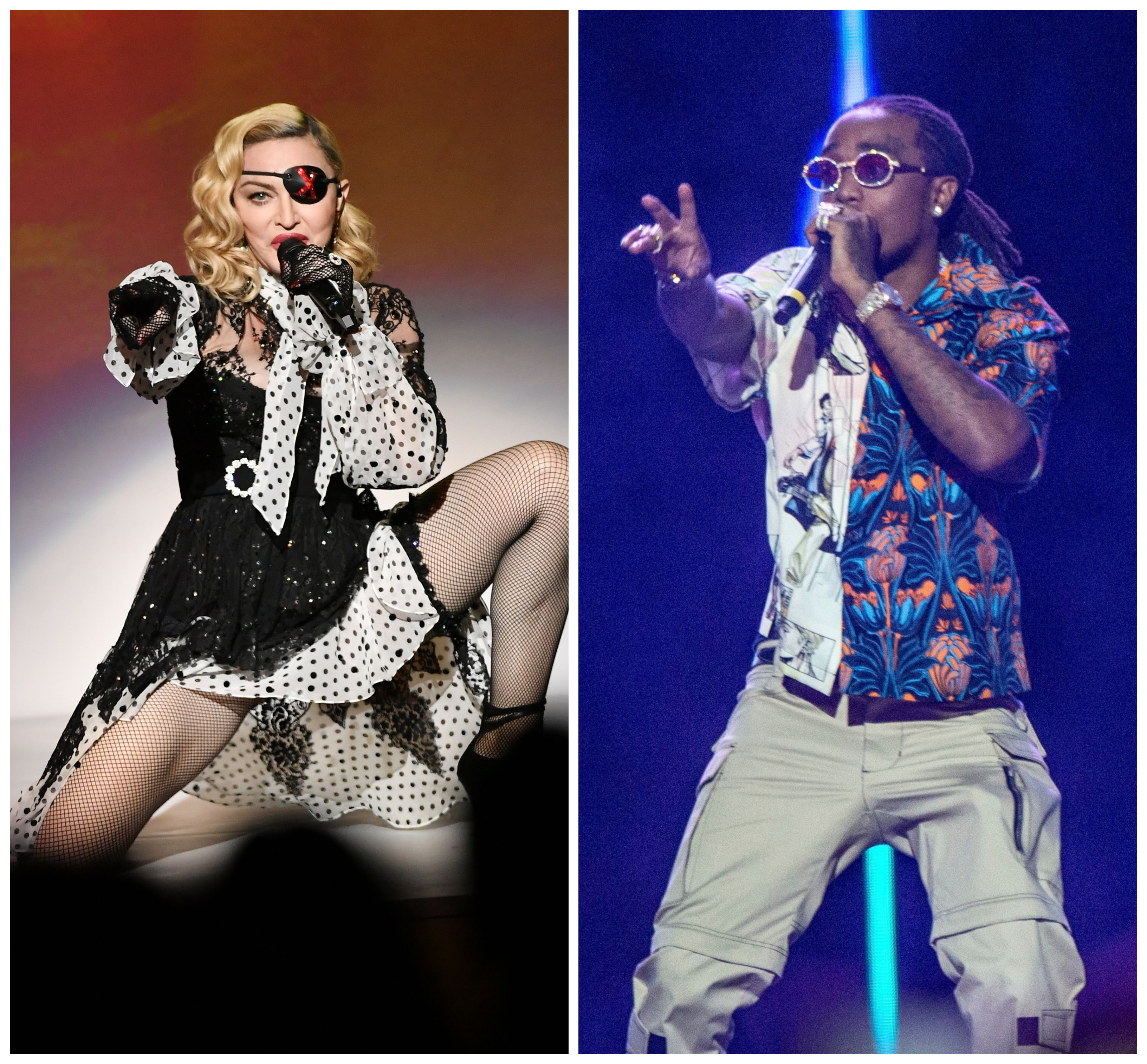 Madonna and Quavo Welcome the 'Future' in New Song