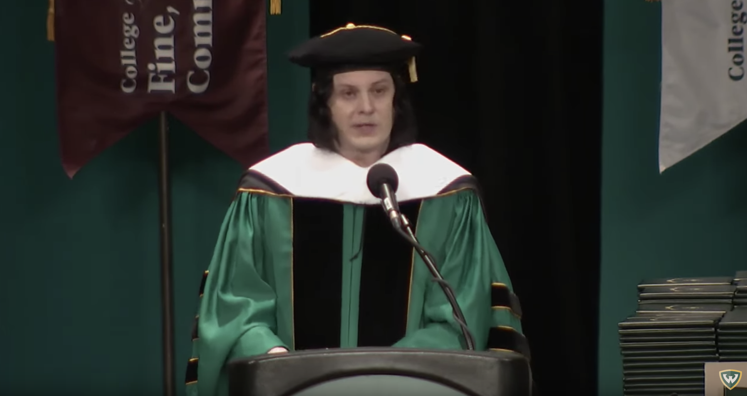 See Jack White Receive Honorary Doctorate From Wayne State