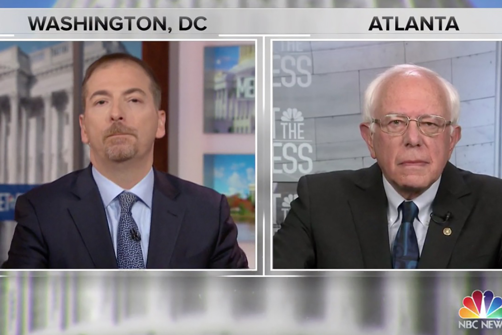 Bernie Sanders and Chuck Todd Have Terrible Takes on Abortion