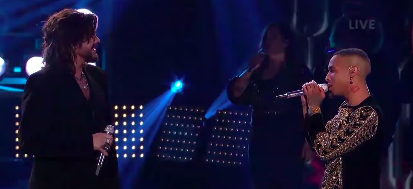 Adam Lambert Dimitrius Graham Perform Queen On American Idol