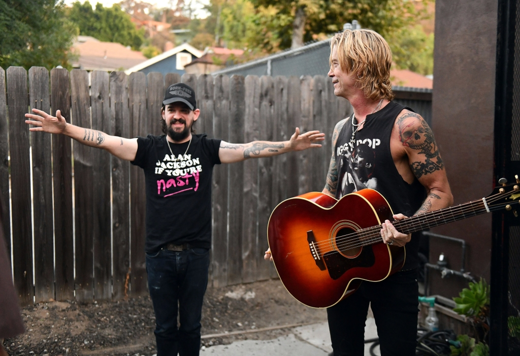Shooter Jennings and Duff McKagan.