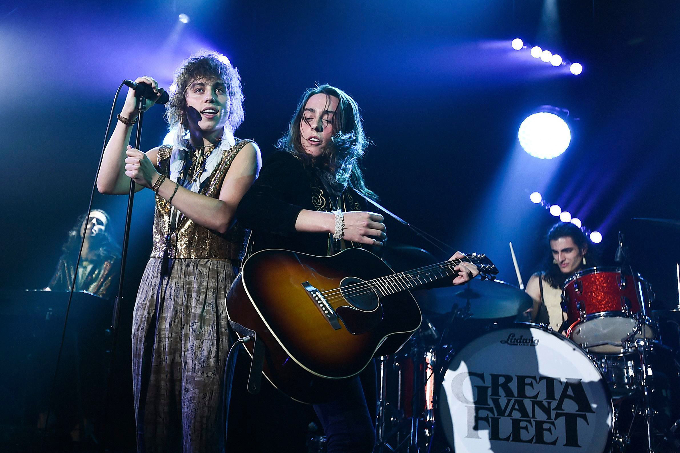 Greta Van Fleet Extend North American 'March of the Peaceful Army' Tour
