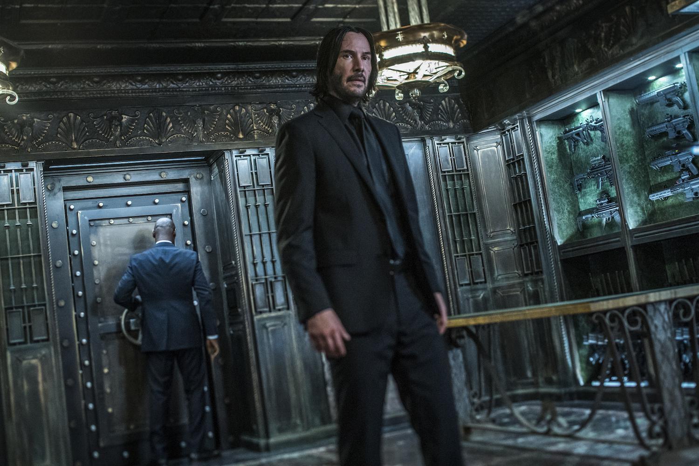 Keanu Reeves Stars As John Wick In John Wick Chapter  Parabellum