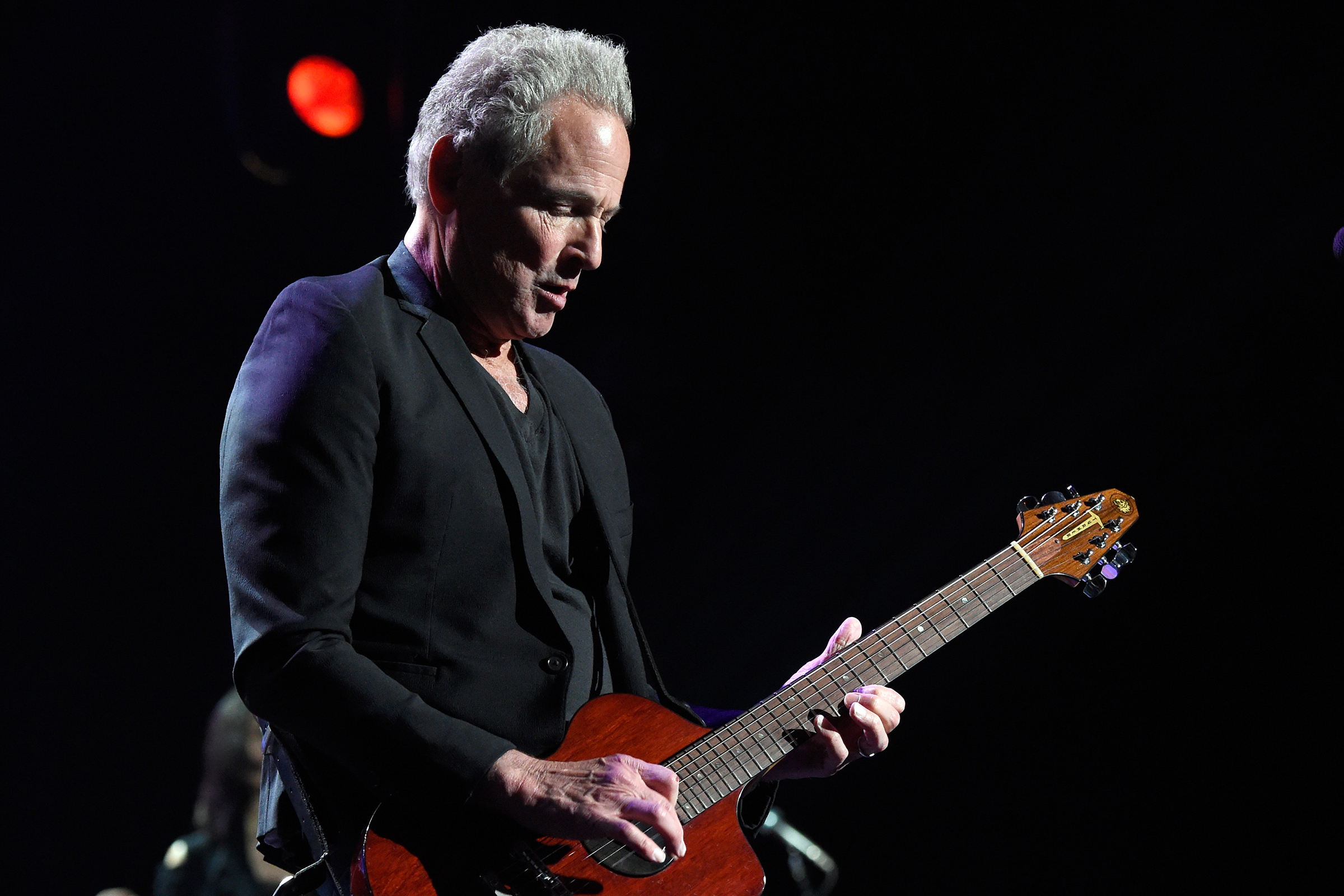 Watch Lindsey Buckingham Play Guitar for First Time Since Heart Surgery
