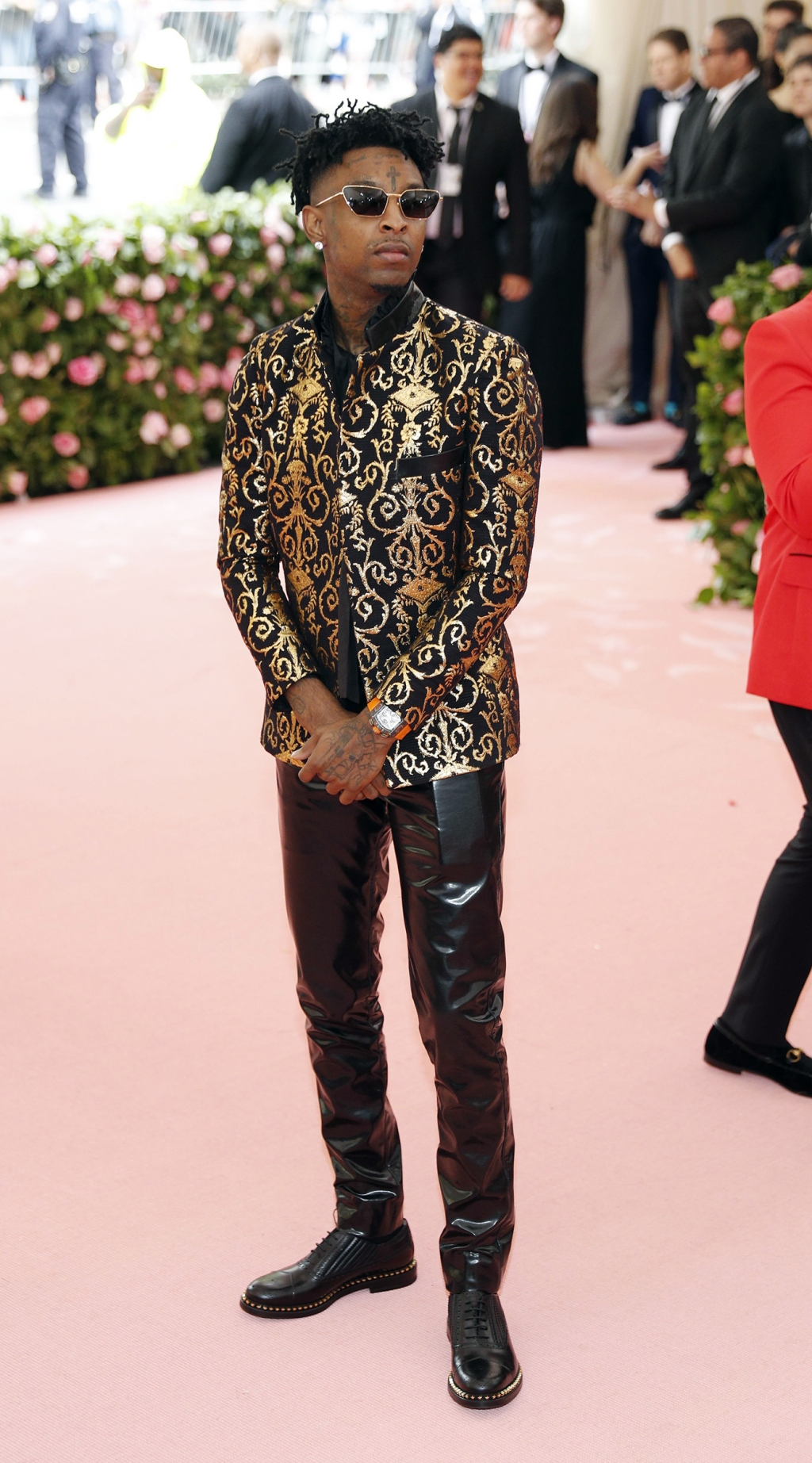 21 Savage attends The 2019 Met Gala Celebrating Camp: Notes on Fashion at Metropolitan Museum of Art on May 06, 2019 in New York City.