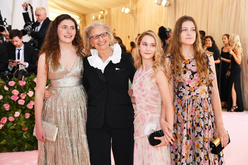 Sarah Cameron Leibovitz, Annie Leibovitz, Samuelle Rhinebeck and Susan Leibovitz attend The 2019 Met Gala Celebrating Camp: Notes on Fashion at Metropolitan Museum of Art on May 06, 2019 in New York City.
