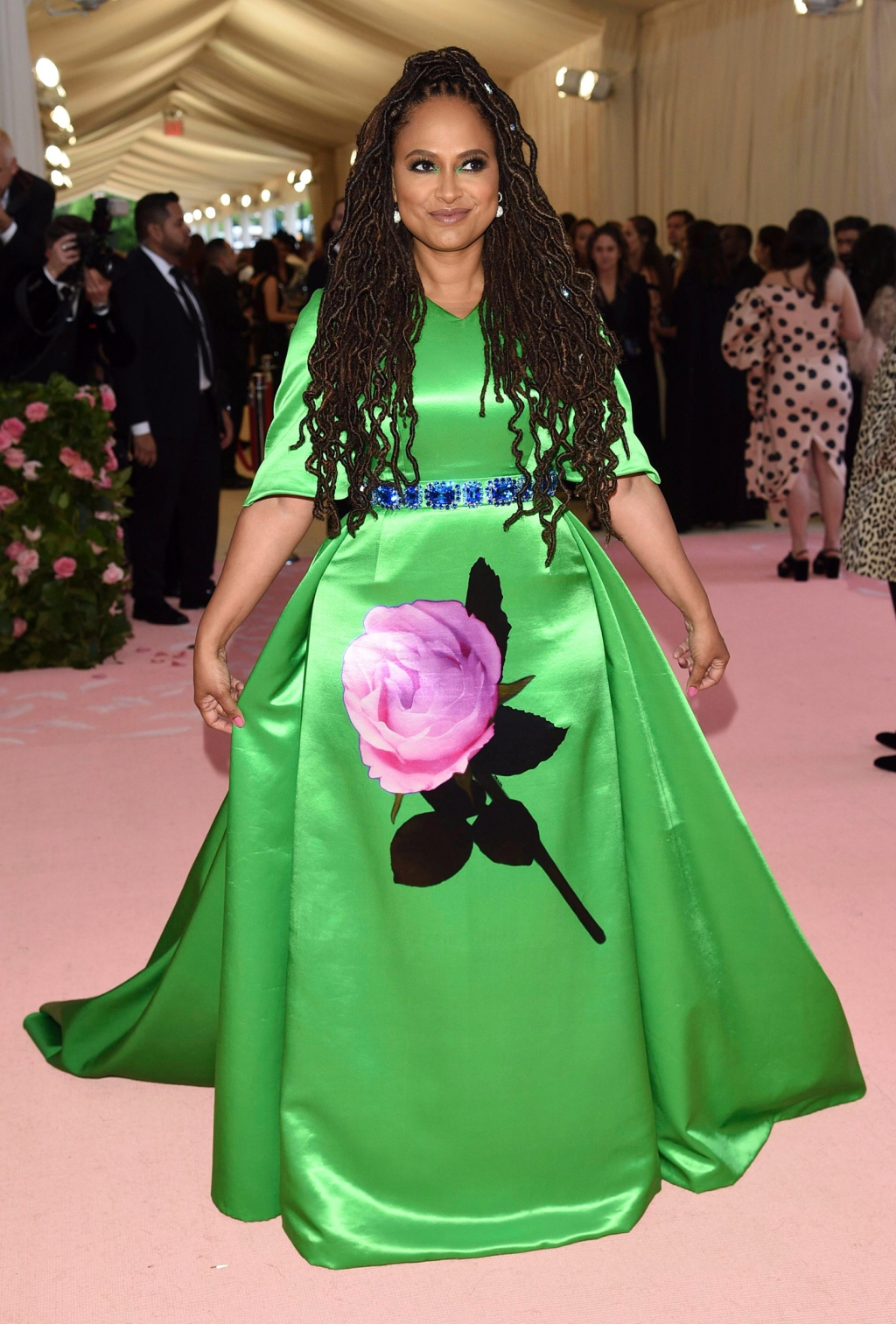 Ava DuVernay attends The 2019 Met Gala Celebrating Camp: Notes on Fashion at Metropolitan Museum of Art on May 06, 2019 in New York City.