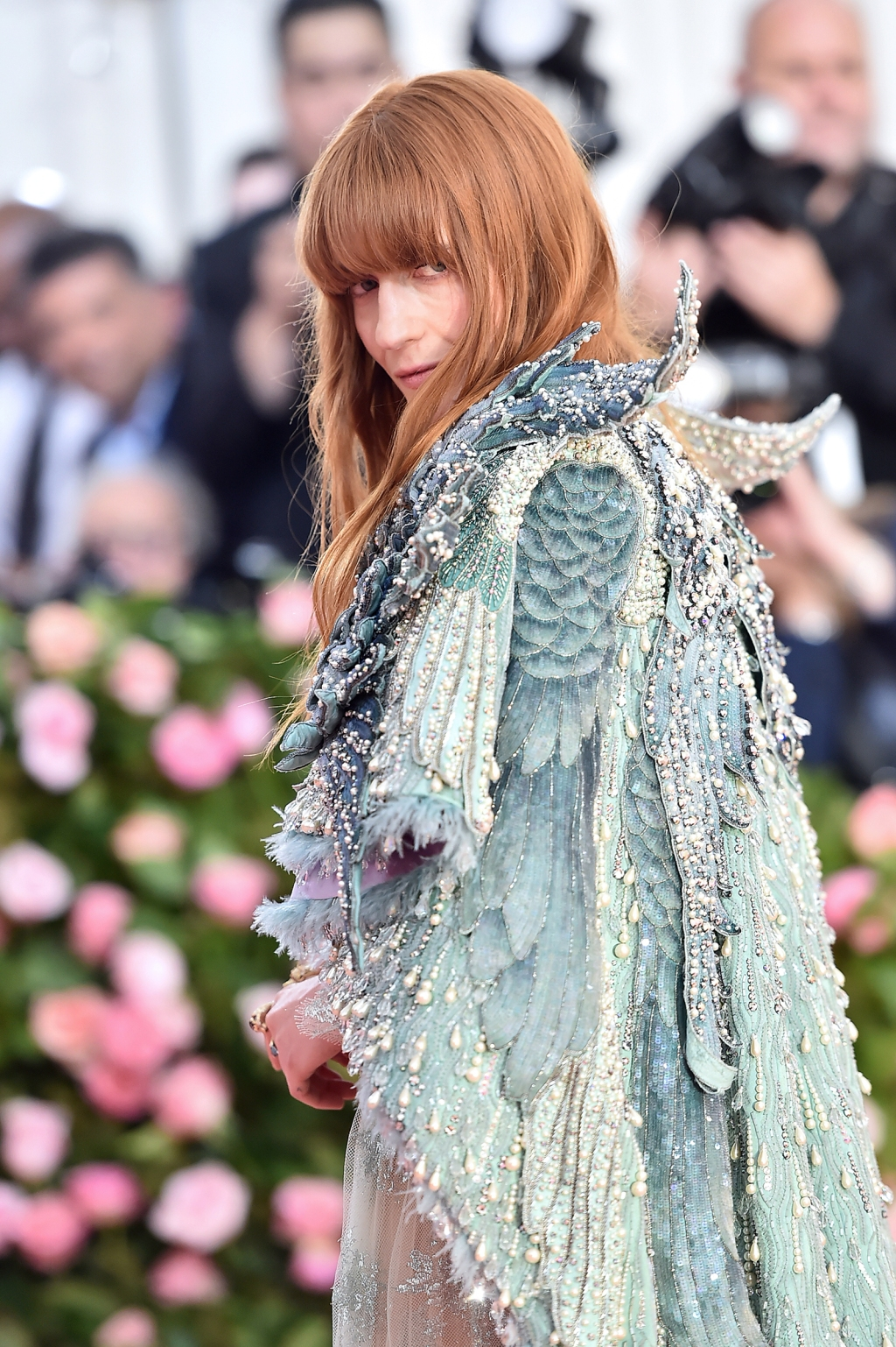 Florence Welch attends The 2019 Met Gala Celebrating Camp: Notes on Fashion at Metropolitan Museum of Art on May 06, 2019 in New York City.