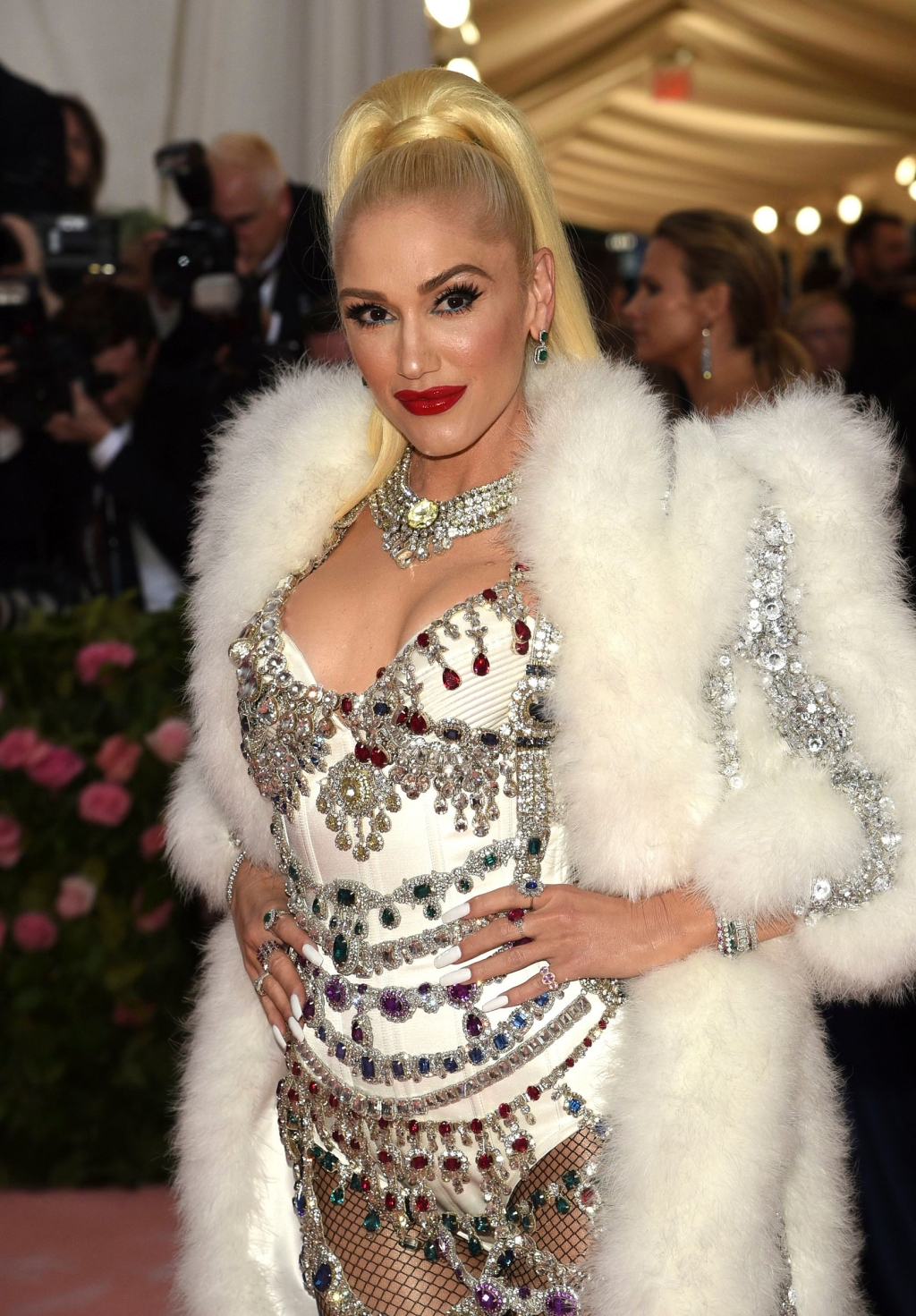 Gwen Stefani attends The 2019 Met Gala Celebrating Camp: Notes on Fashion at Metropolitan Museum of Art on May 06, 2019 in New York City.