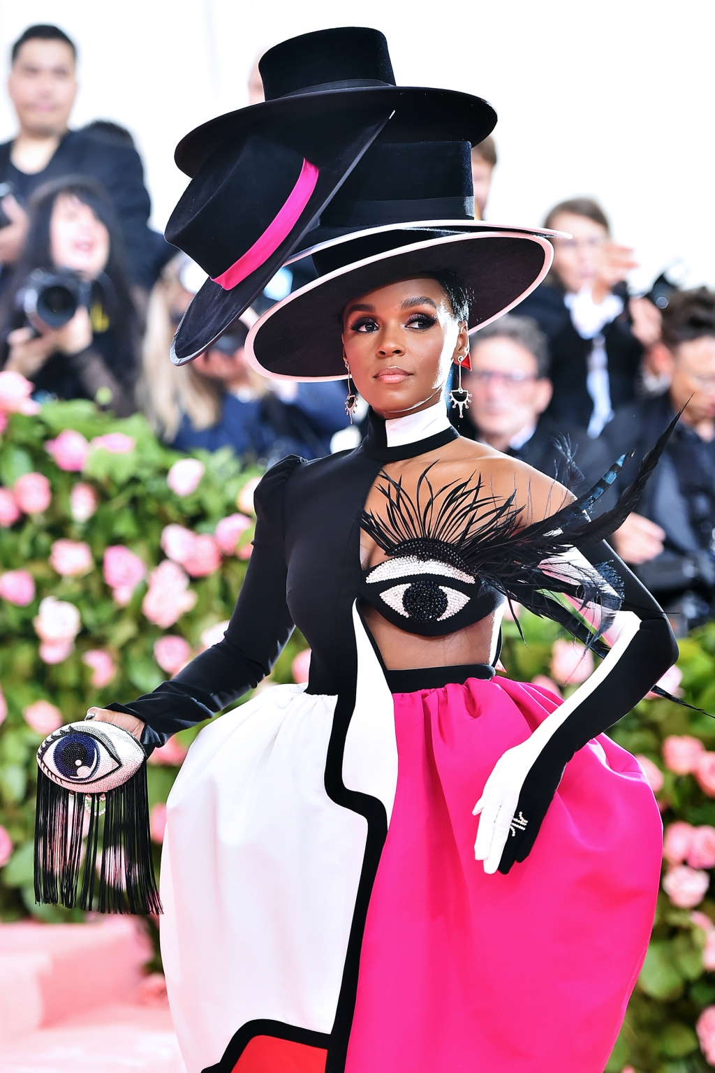 Janelle Monáe attends The 2019 Met Gala Celebrating Camp: Notes on Fashion at Metropolitan Museum of Art on May 06, 2019 in New York City.