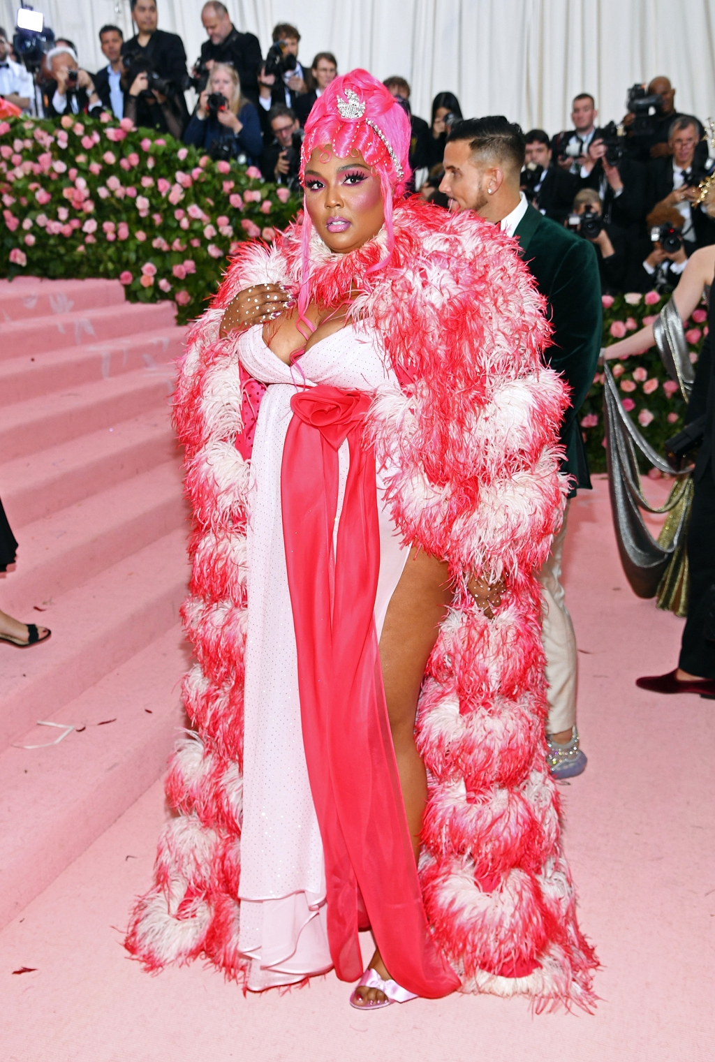 Lizzo attends The 2019 Met Gala Celebrating Camp: Notes on Fashion at Metropolitan Museum of Art on May 06, 2019 in New York City.