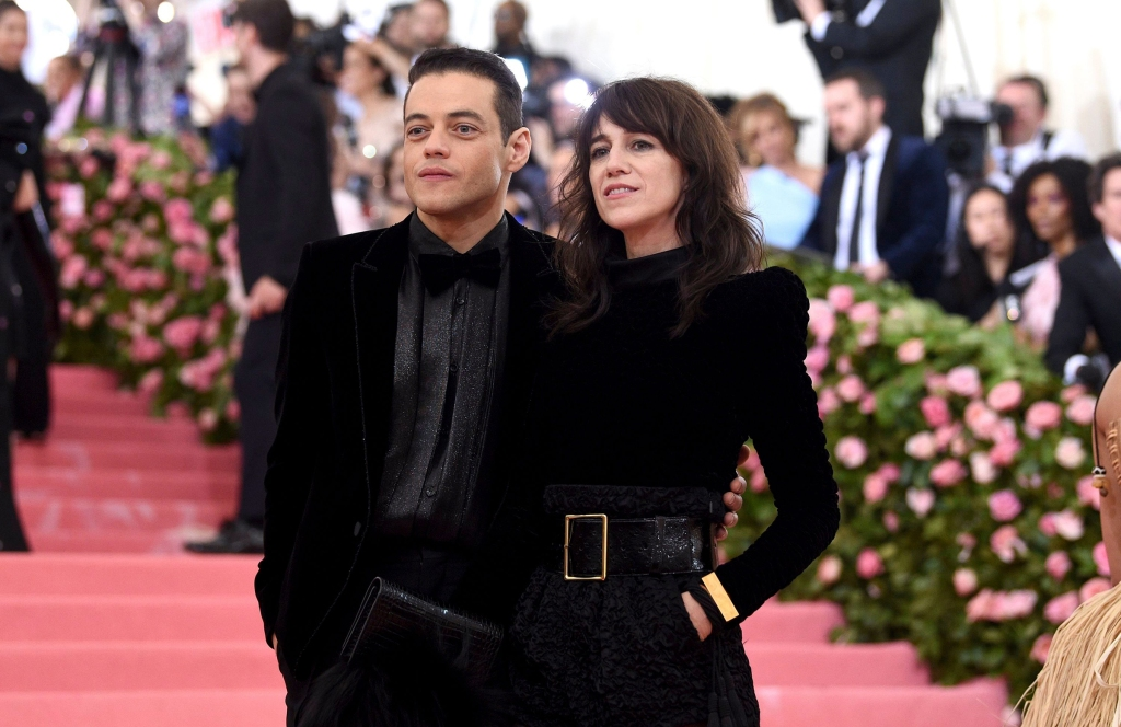 Rami Malek, left, and Charlotte Gainsbourg attend The 2019 Met Gala Celebrating Camp: Notes on Fashion at Metropolitan Museum of Art on May 06, 2019 in New York City.