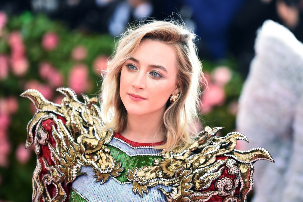 Saoirse Ronan attends The 2019 Met Gala Celebrating Camp: Notes on Fashion at Metropolitan Museum of Art on May 06, 2019 in New York City.