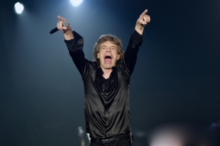 Mick Jagger Shows off His Dance Moves Post-Heart Surgery