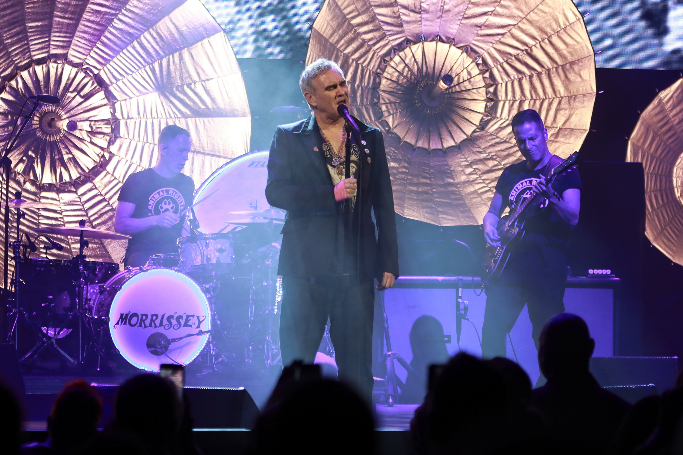 NEW YORK, NY - MAY 02: Morrissey performs at Lunt-Fontanne Theatre on May 2, 2019 in New York City. (Photo by Jason Mendez/Getty Images)