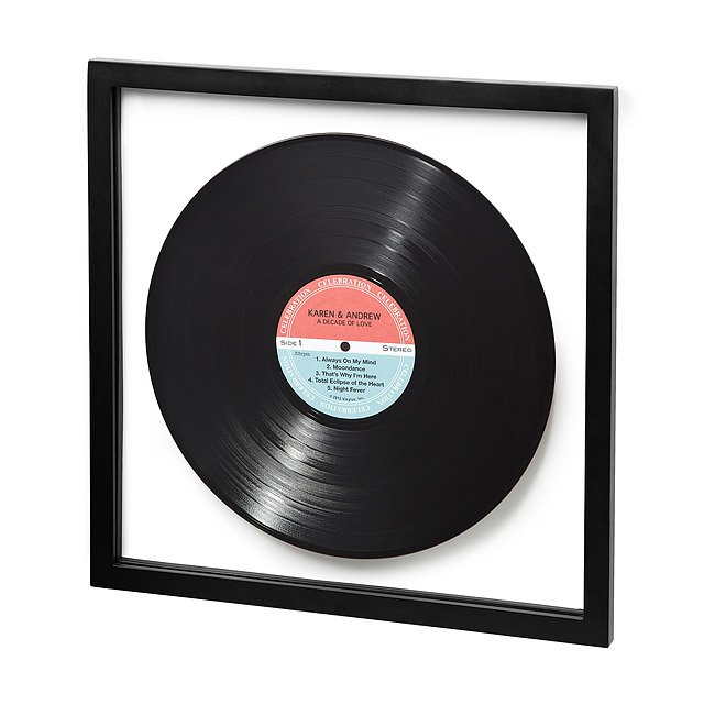 personalized record LP disc