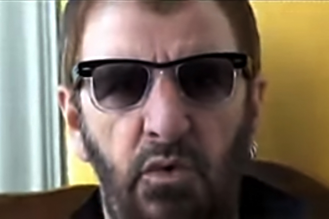 3188f6423a111 Flashback  Ringo Starr  Warns You With Peace and Love  to Stop Sending Him  Crap