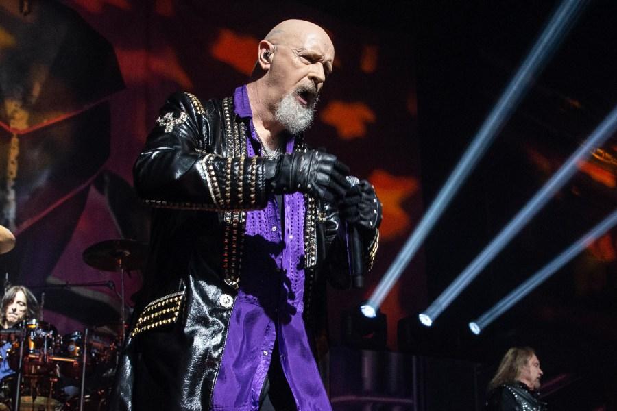 See Judas Priest's Rob Halford Sing Christmas Carol for