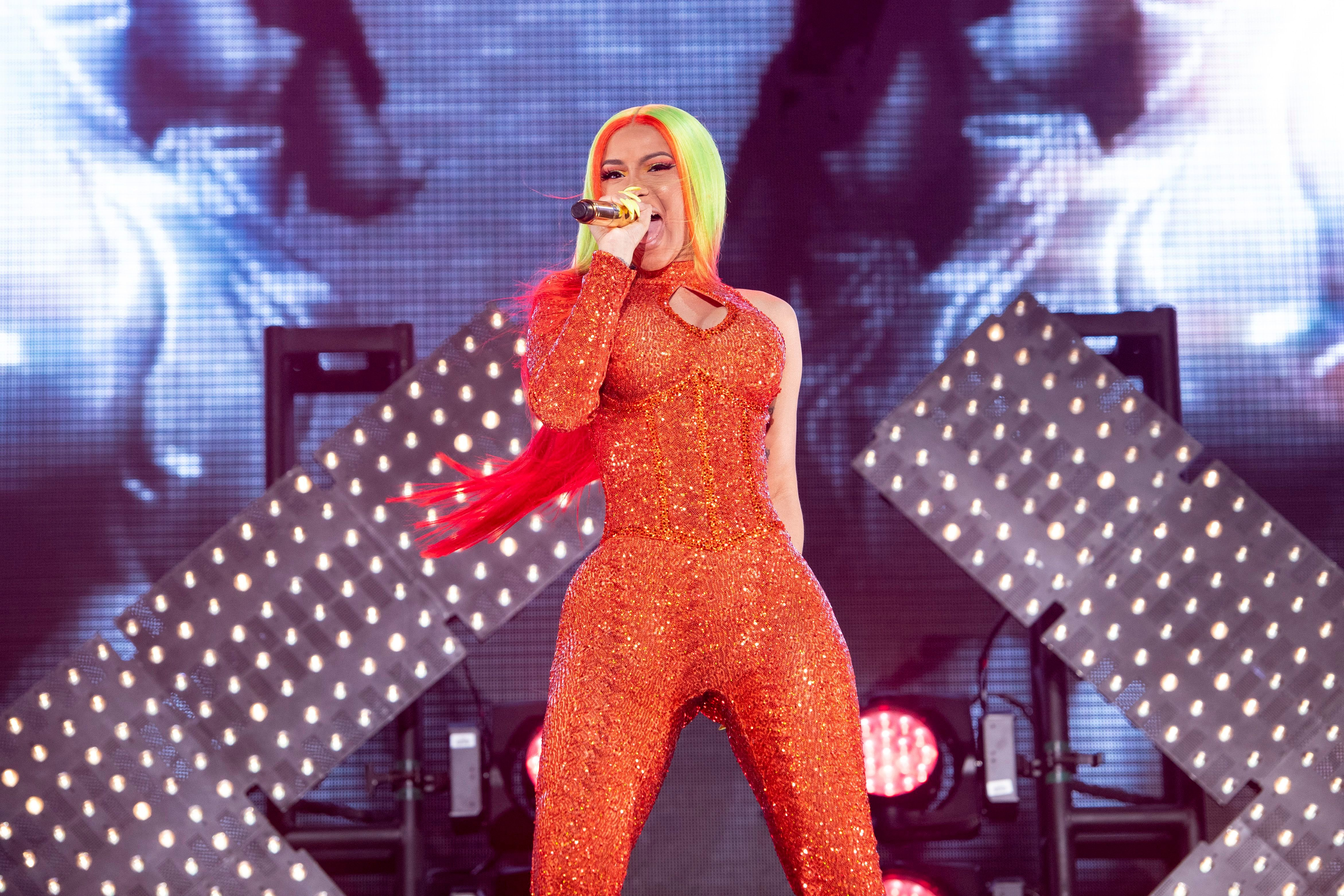 Cardi B Throws Gauntlet On Critics In New Song Press Rolling Stone