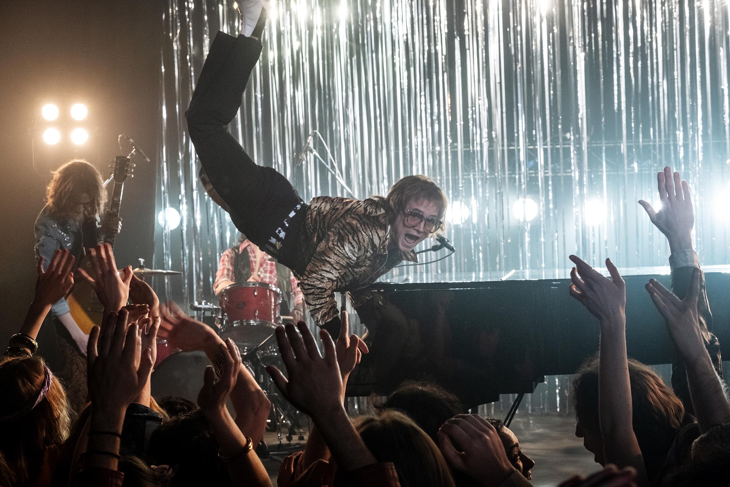 45f3549145fd Elton John Style: Best Fashion From 'Rocketman' Inspired by Elton ...