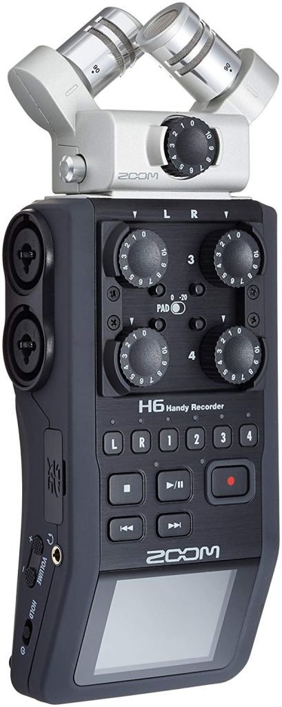 zoom portable recorder