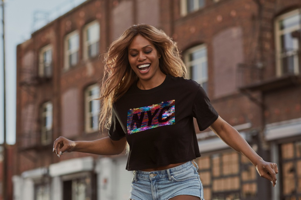 laverne cox H&M pride collection