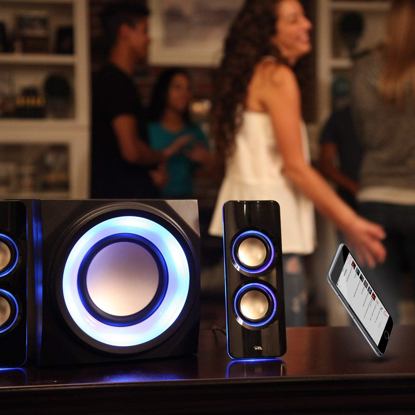 Cyber Acoustics Bluetooth Speakers